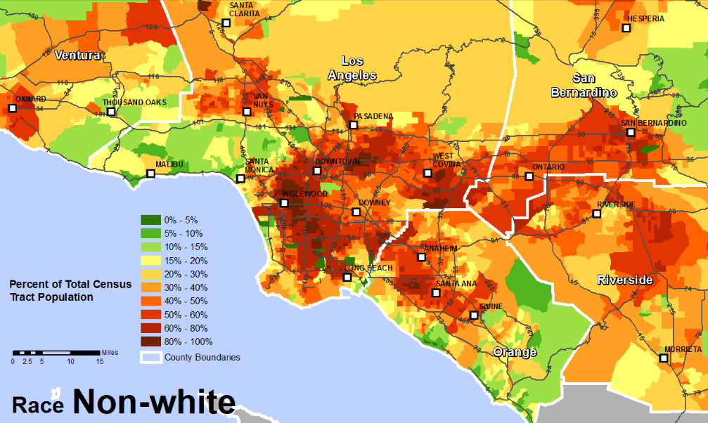 Los Angeles Metro Demographics Maps